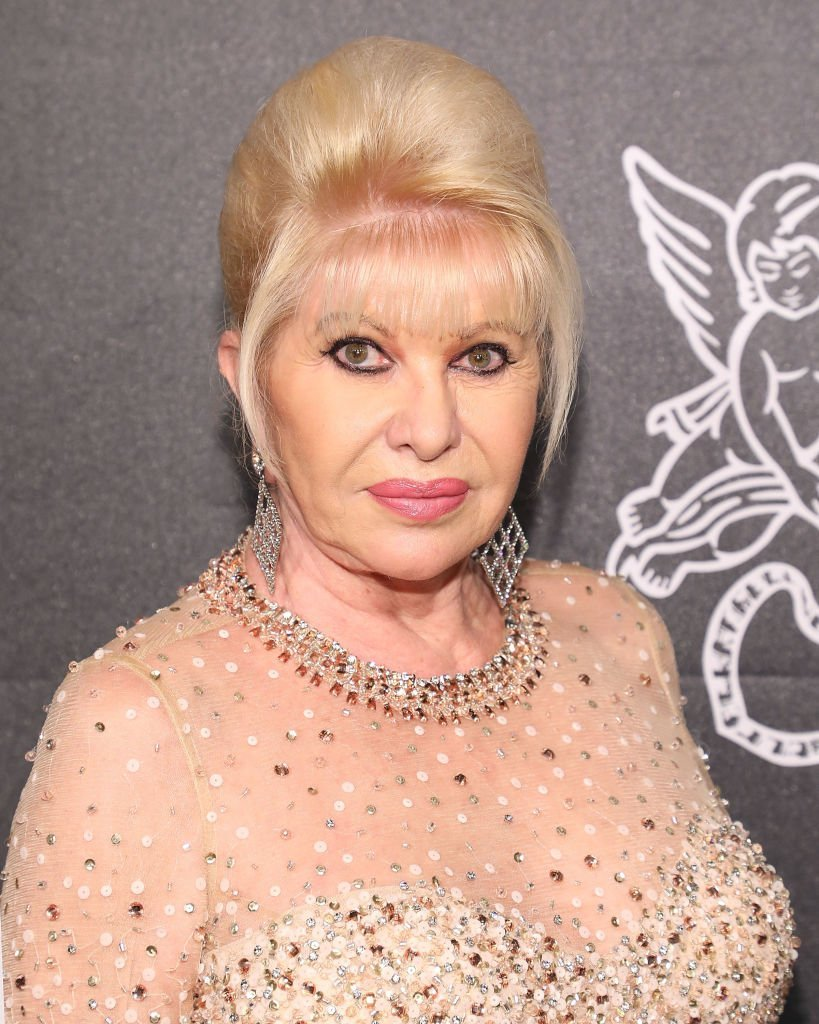 Ivana Trump attends the 2018 Angel Ball at Cipriani Wall Street | Photo: Getty Images