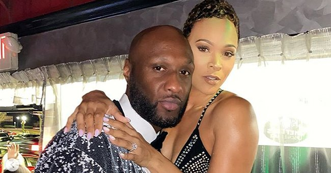 Lamar Odom & Fiancée Sabrina Parr Showed PDA in Matching Shimmery Outfits in New Year Pics