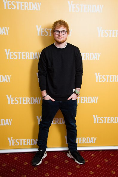 Ed Sheeran, Gorleston-on-Sea, England | Quelle: Getty Images