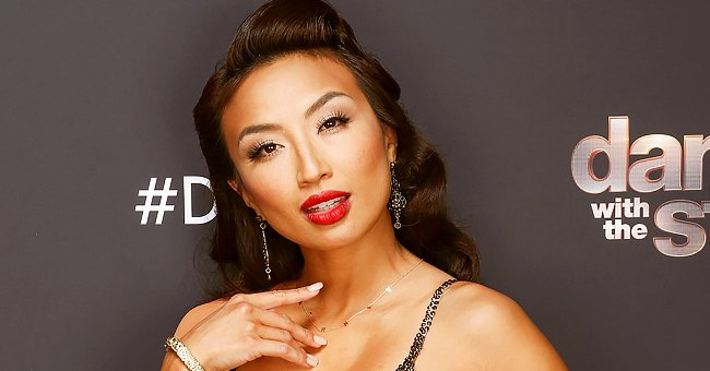 'The Real' Co-host Jeannie Mai Looks Stunning Rocking a Houndstooth Ensemble & Chic High Heels