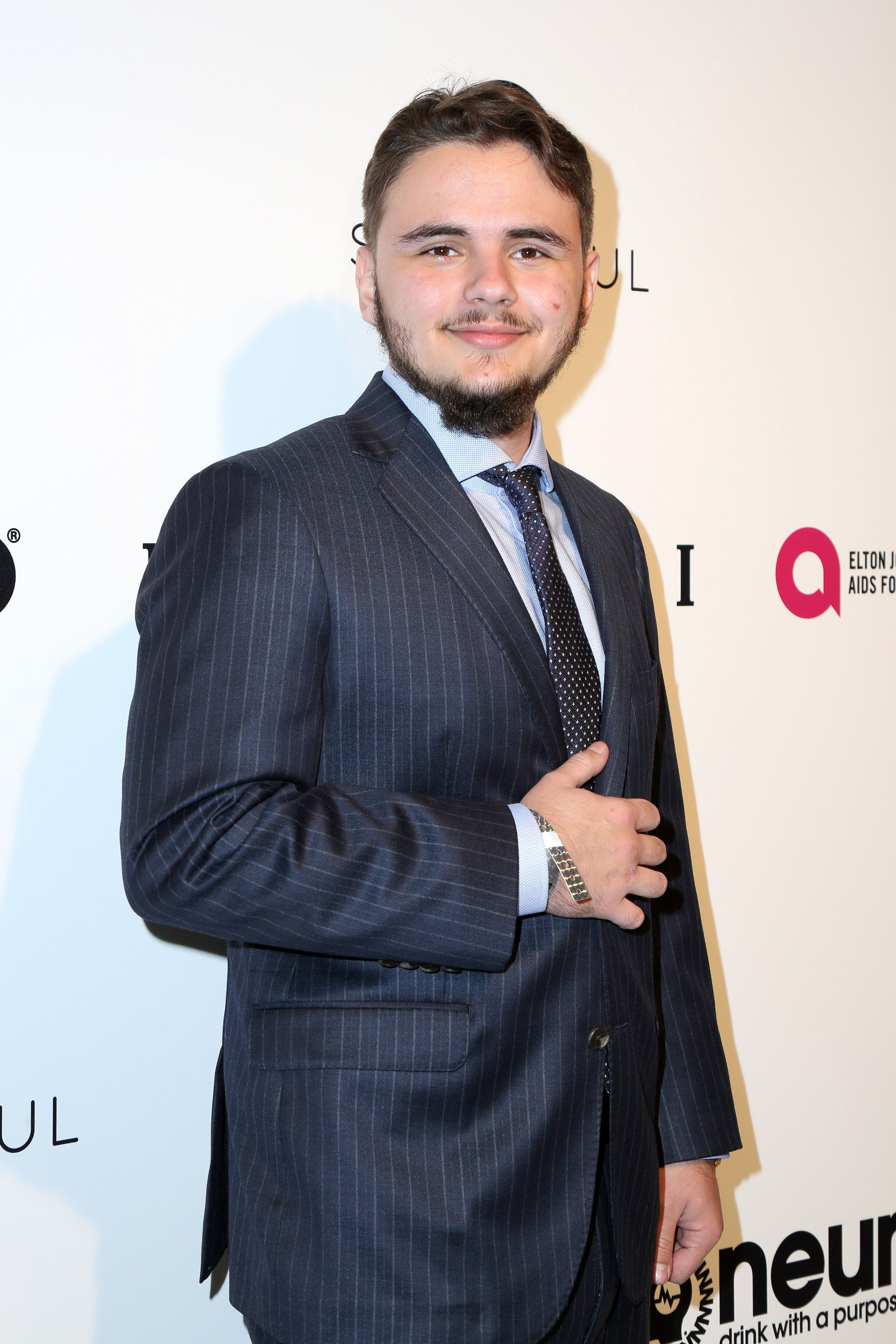Prince Jackson at the 25the Annual Elton John Academy Awards Viewing Party. February 26, 2017. | Photo: Shutterstock