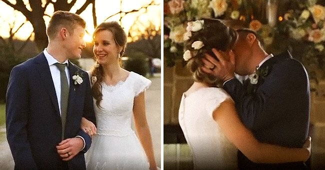 Justin Duggar Gives Fans a Sneak Peek at His Wedding with Claire Spivey — See Their First Kiss