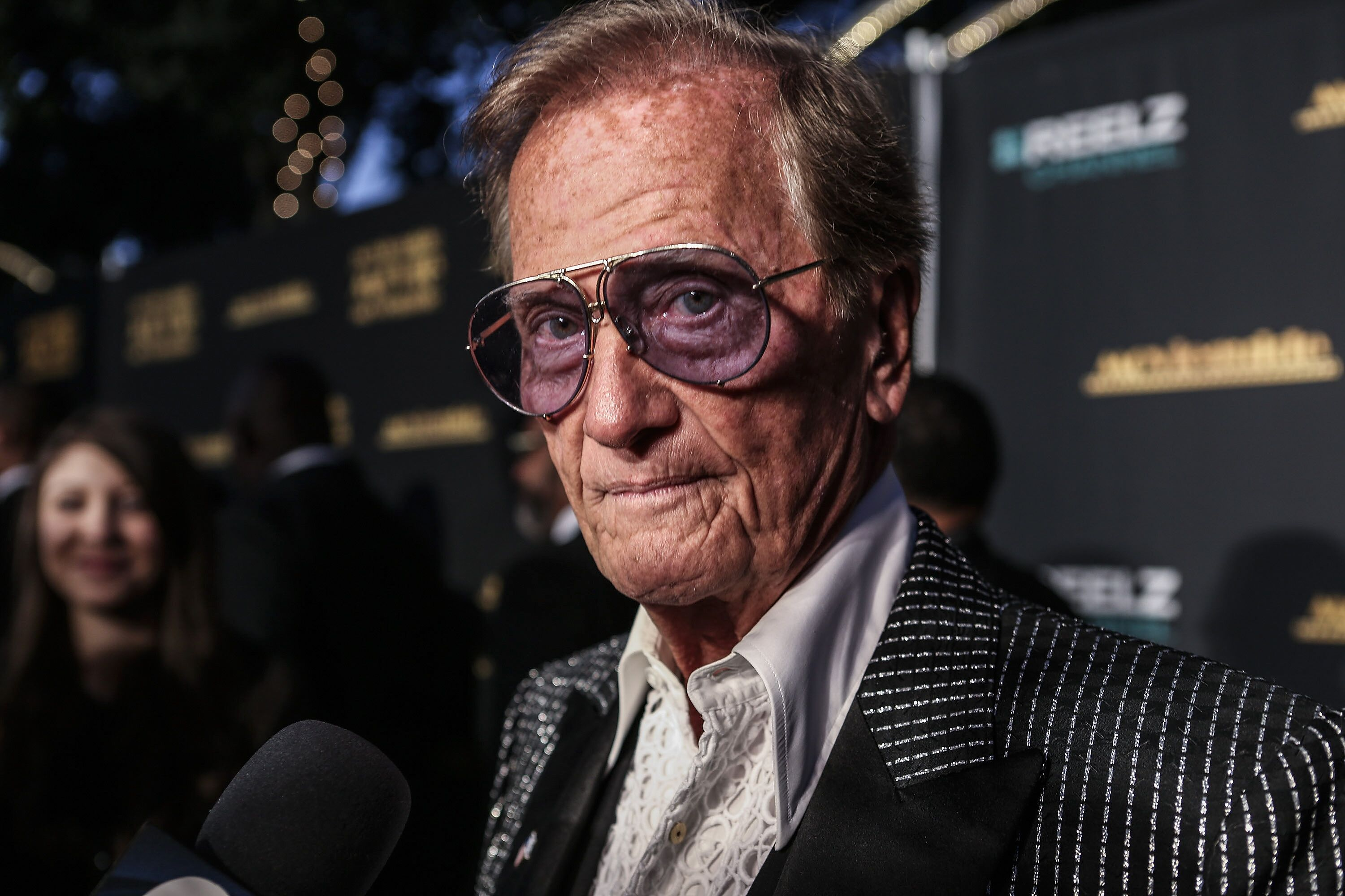 Pat Boone at the 23rd Annual MovieGuide Awards in Universal City, California in 2015   Source: Getty Images