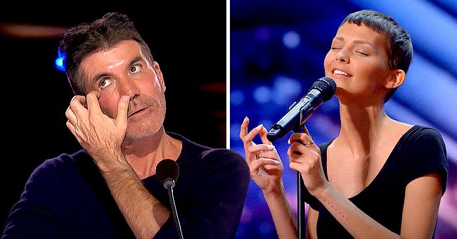 AGT: Simon Cowell Is Mesmerized by Cancer-Stricken Singer with 2 Percent Chance of Survival