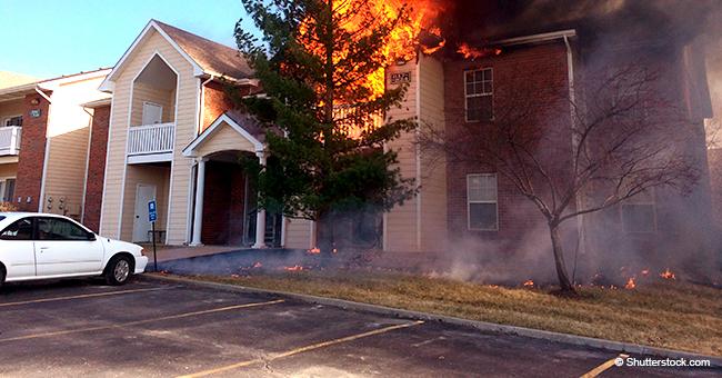 Cette femme a risqué sa vie pour sauver une vieille dame de sa maison en feu