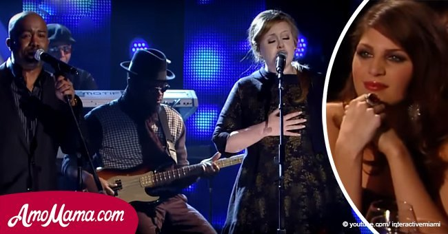 Darius Rucker & Adele sing 'Need You Now'. Lady Antebellum can't stop crying during performance