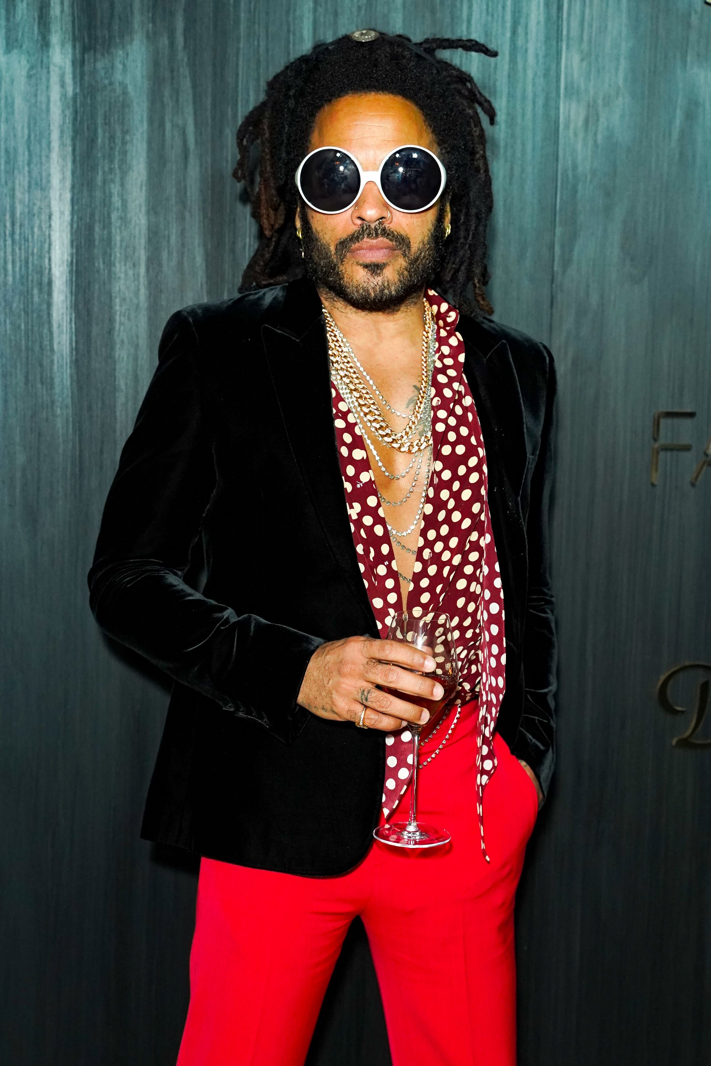 Lenny Kravitz during Dom Perignon Last Supper Party on December 04, 2019 in Miami, Florida. | Source: Getty Images