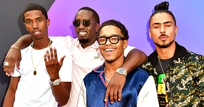 Diddy's Grown Sons Honor Their Dad with Loving Tributes for His 50th Birthday
