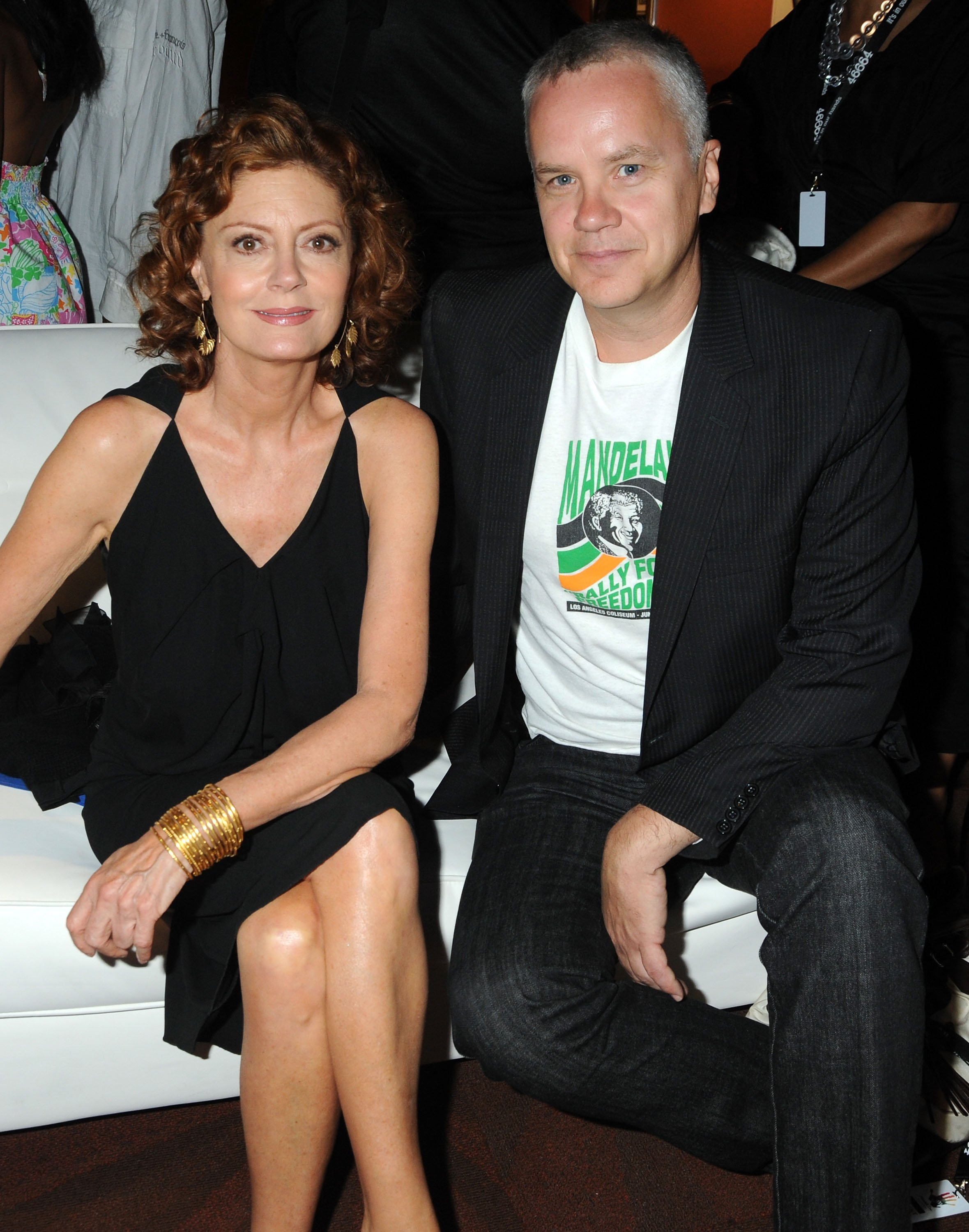 Susan Sarandon and Tim Robbins at the Mandela Day: A Celebration Concert on July 18, 2009 | Photo: GettyImages