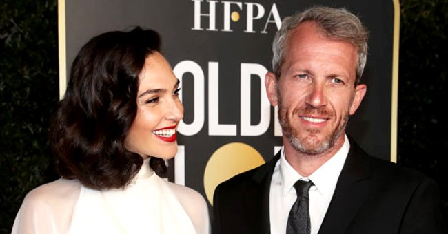 Gal Gadot and Yaron Varsano attend the 78th Annual Golden Globe Awards at The Beverly Hilton on February 28, 2021 in Beverly Hills, California | Photo: Getty Images