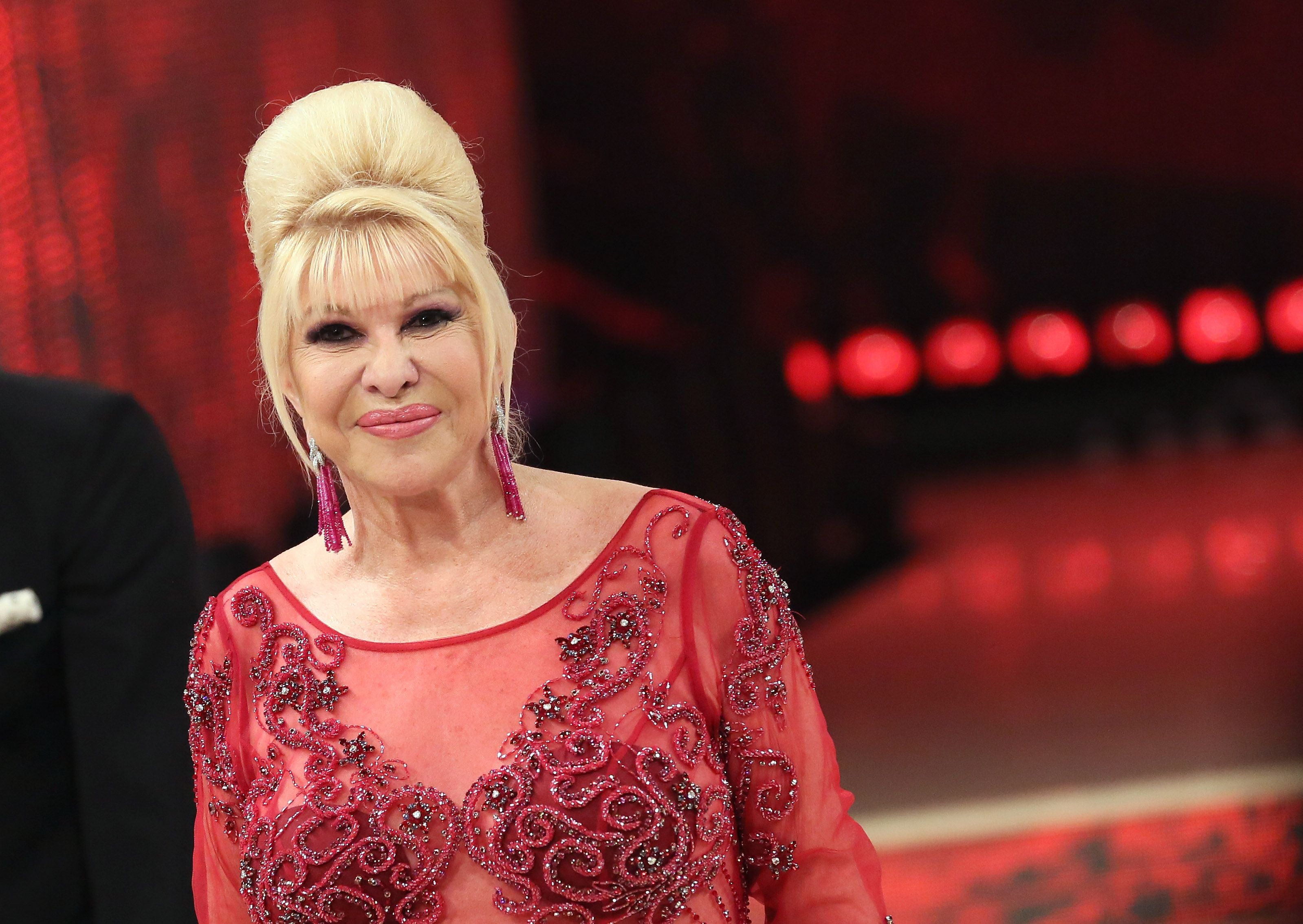 Ivana Trump attends the Italian TV show 'Ballando Con Le Stelle' (Dancing with the Stars) at RAI Auditorium on May 5, 2018 in Rome, Italy. | Source: Getty Images