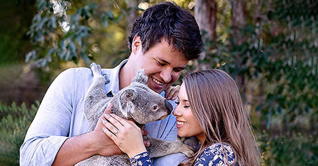 'Crikey! It's the Irwins' Star Bindi Irwin Shows off Engagement Ring & Gives Sneak Peek of Wedding Dress in New Photo