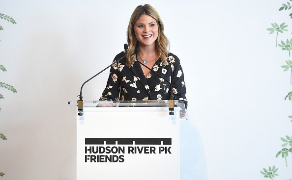 Jenna Bush Hager speaks on stage as she attends Hudson River Park Friends Playground Committee Fourth Annual Luncheon at Current at Chelsea Piers | Photo: Getty Images