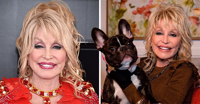 Dolly Parton Celebrates National Dog Day with a Sweet Photo of Her Cute God-Dog