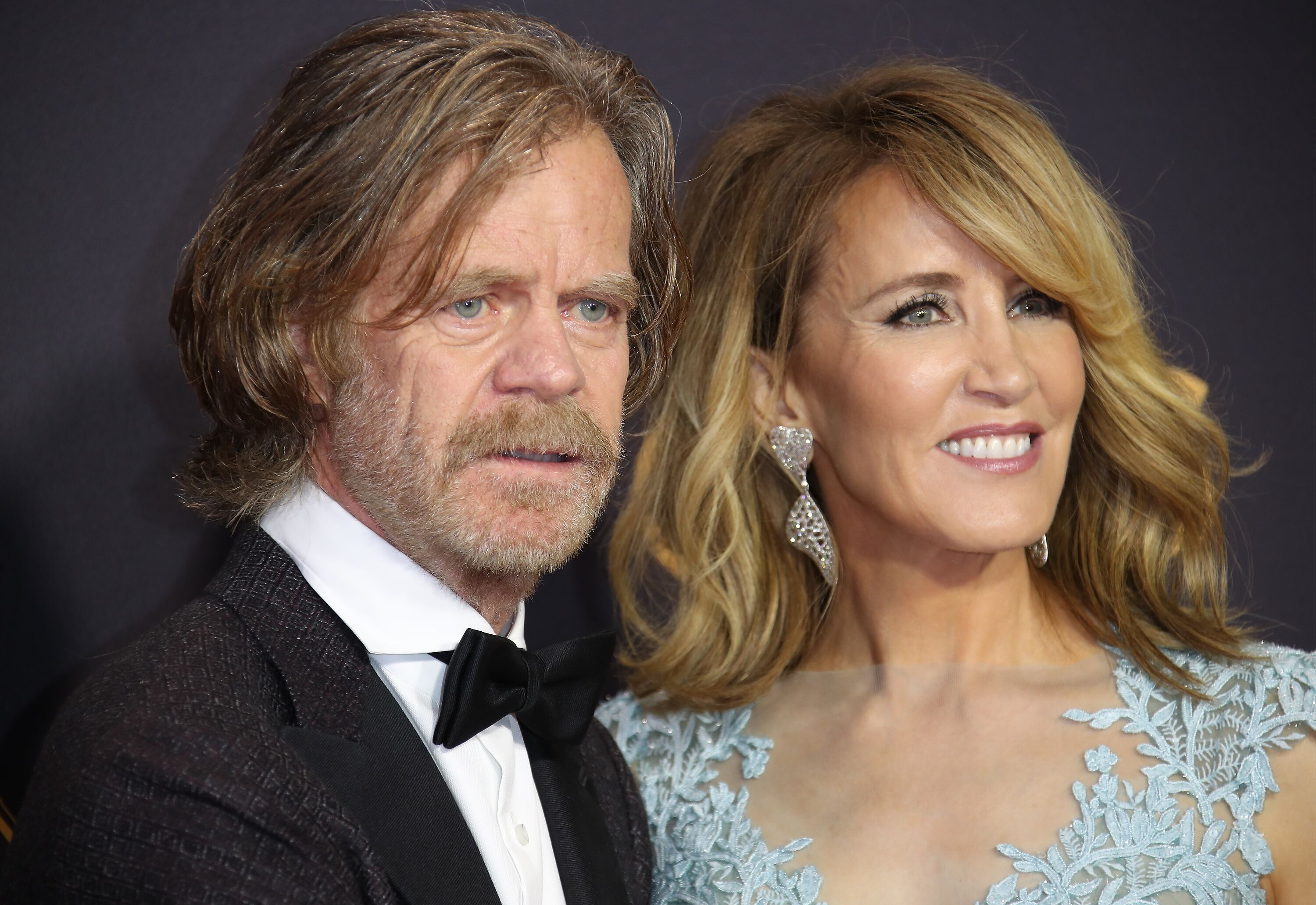 William H. Macy and Felicity Huffman at the 69th Annual Primetime Emmy Awards on September 17, 2017, in Los Angeles, California | Photo: Dan MacMedan/Getty Images