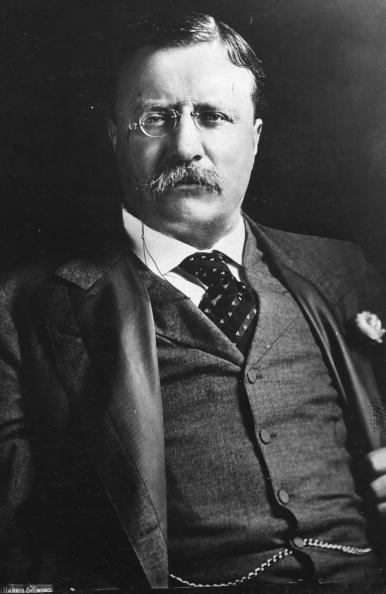 Theodore Roosevelt (1858 - 1919), the 26th President of the United States of America (1901-09) | Photo: Getty Images