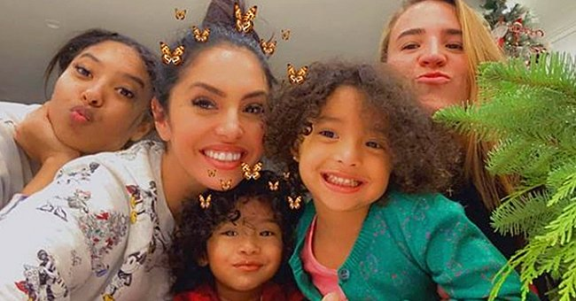Vanessa Bryant Flashes White Smile in a Heartwarming Photo with Her Look-Alike Daughters