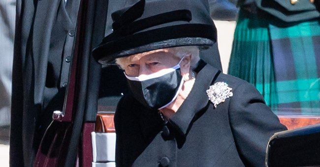 Here Is the Symbolism behind Diamond Brooch Worn by the Queen with Her All-Black Funeral Ensemble