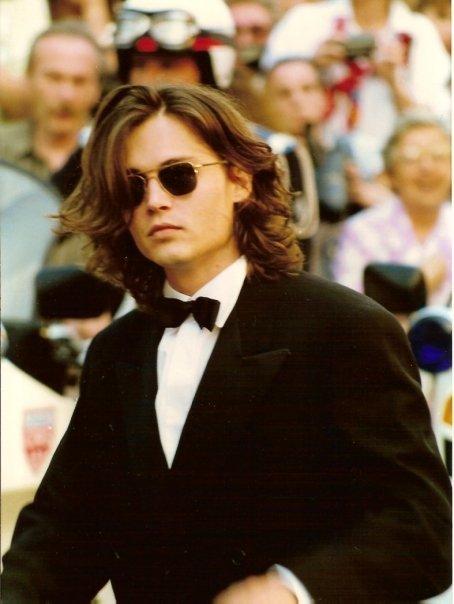 Johnny Depp joven. | Foto: Wikimedia Commons