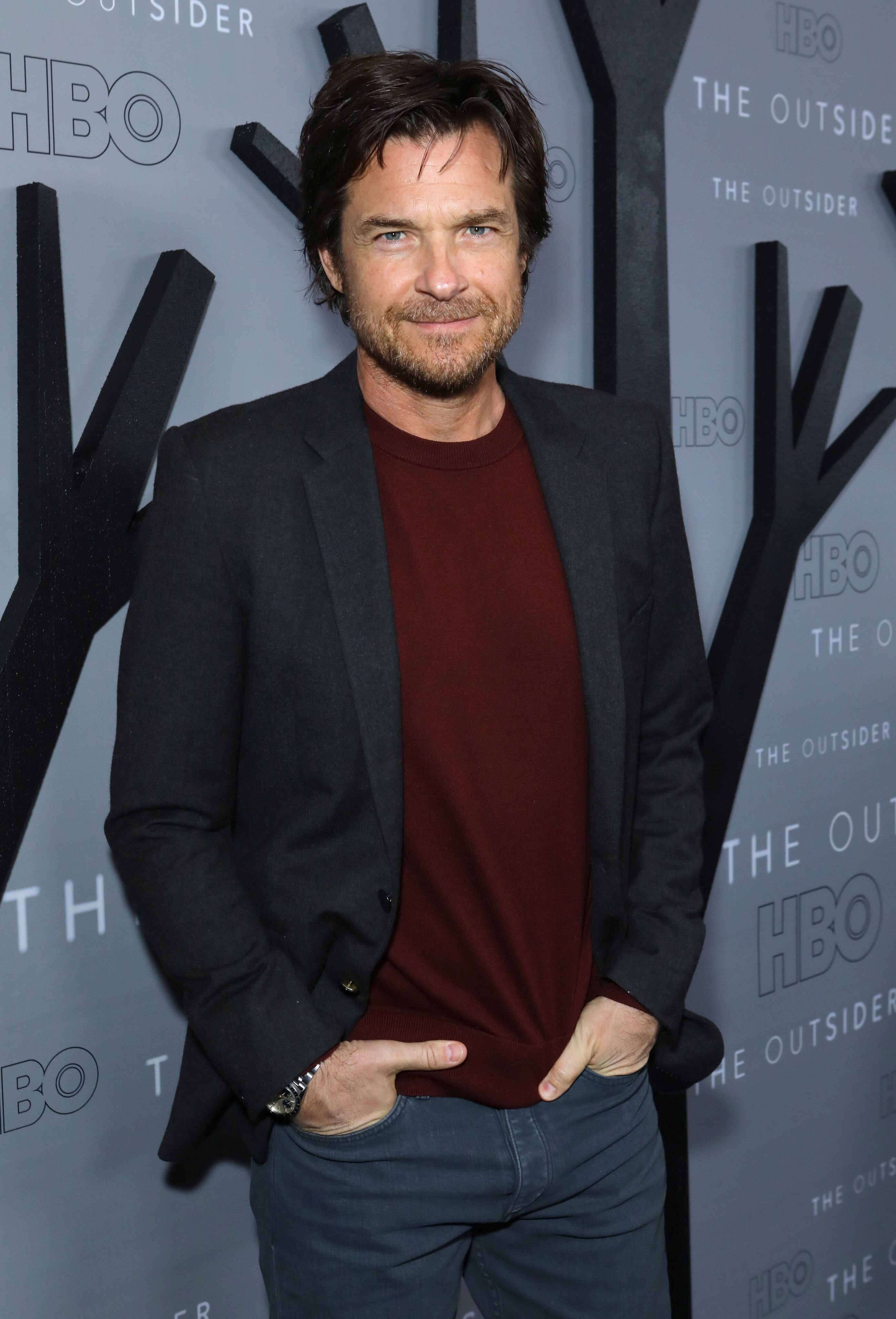 "Jason Bateman attends the premiere of HBO's ""The Outsider"" at DGA Theater 