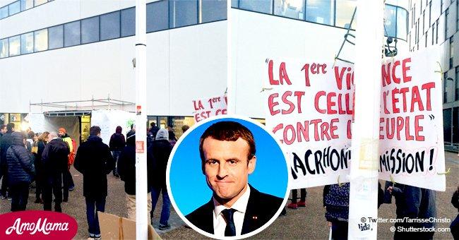 """""""Macron est terne"""": Une enseignante convoquée pour avoir critiqué Macron sur le Web"""