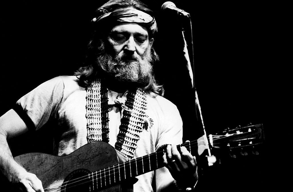 Legendary Outlaw Country singer  Willie Nelson performing on stage in 1978   Source: Getty Images