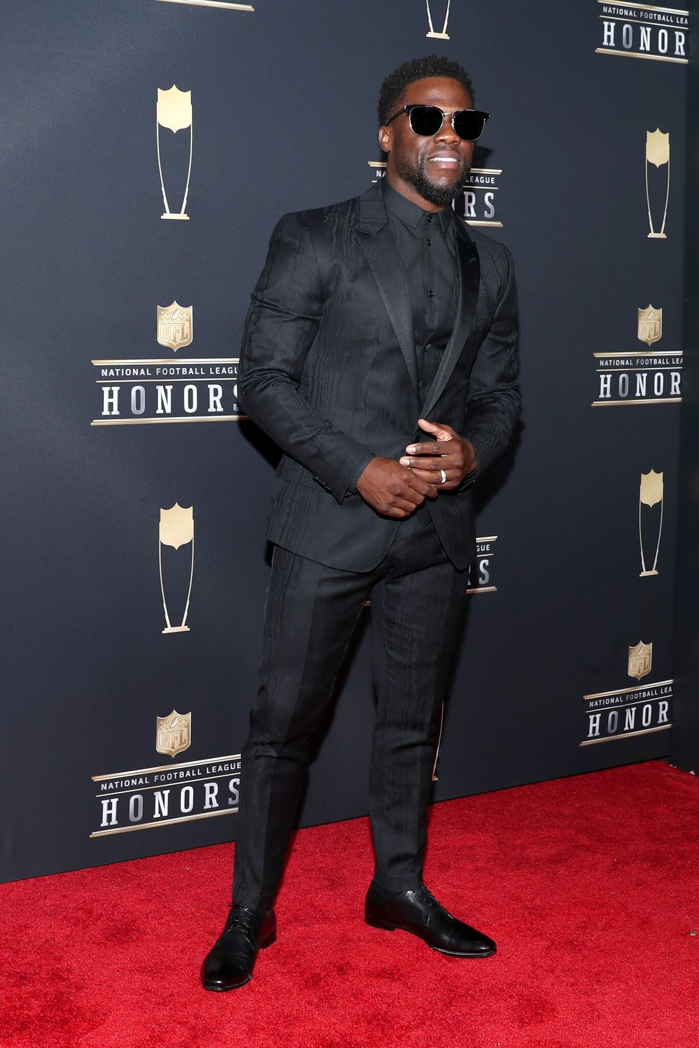 Comedian Kevin Hart attends the NFL Honors at University of Minnesota on February 3, 2018 in Minneapolis, Minnesota. l  Getty Images