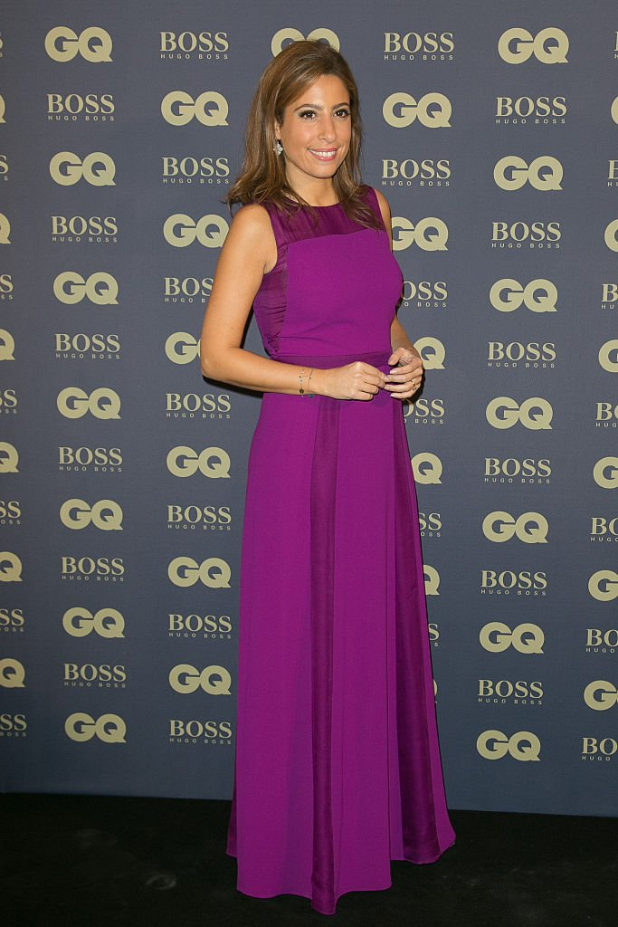 "Lea Salame participe à la photocall de ""GQ Men of the Year 2014"" au Musée d'Orsay le 19 novembre 2014 à Paris, France. 