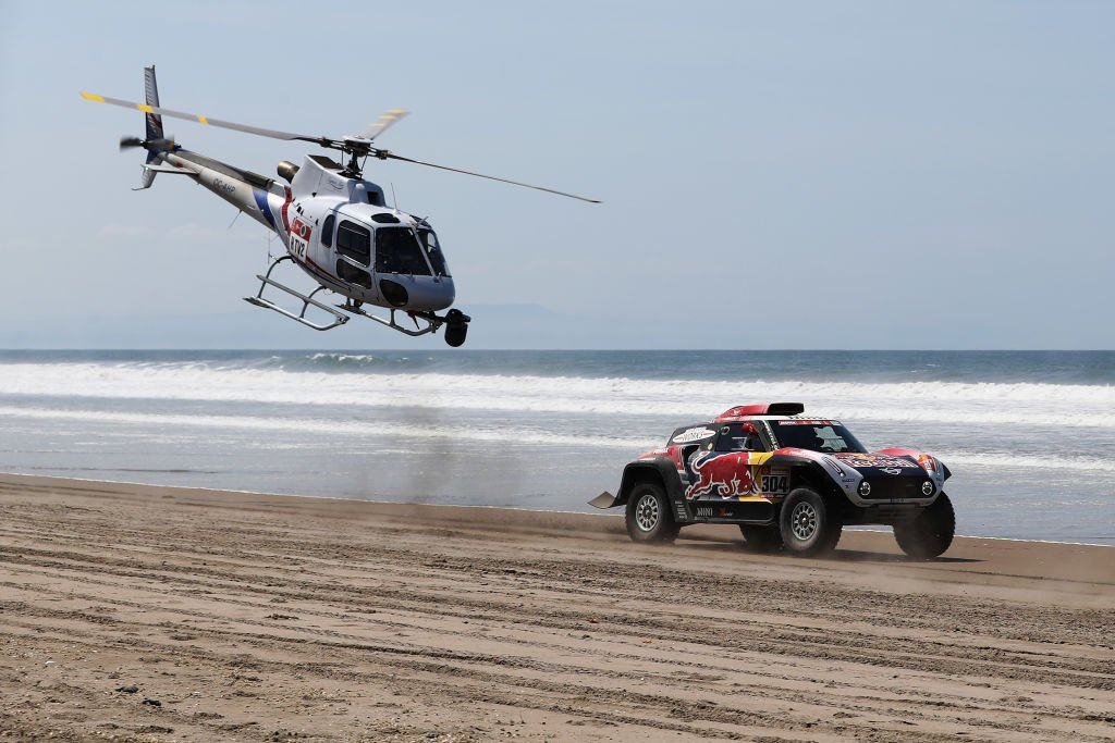 Une photo prise lors du Paris-Dakar 2019. l Source : Getty Images