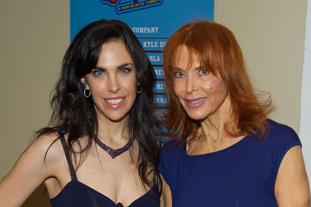 """Caprice Crane and Tina Louise attend the Off-Broadway opening night of """"Lucky Guy"""", May 2011   Source: Getty Images"""