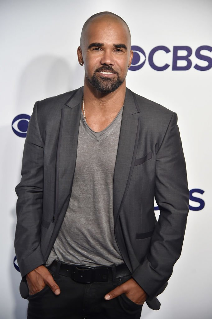 Actor Shemar Moore attends the 2017 CBS Upfront event in New York City. | Photo: Getty Images