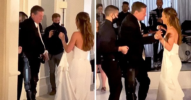 Indycar's Paralyzed Sam Schmidt Walks and Dances at Daughter's Wedding for the 1st Time since 2000