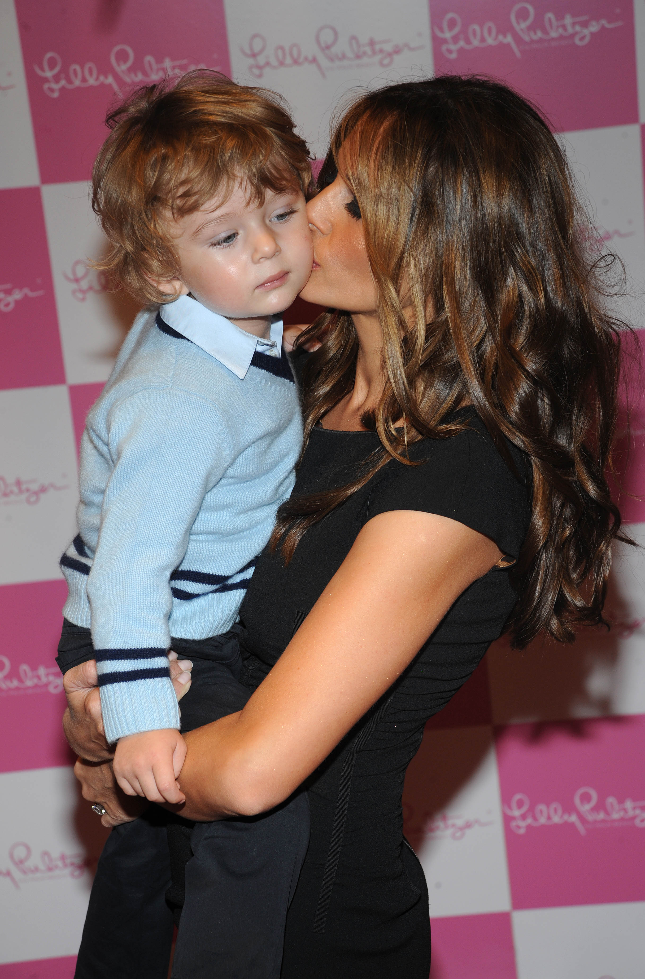 Melania Trump and her son Barron attend the 17th Annual Bunny Hop at FAO Schwarz March 11, 2008  | Photo: GettyImages