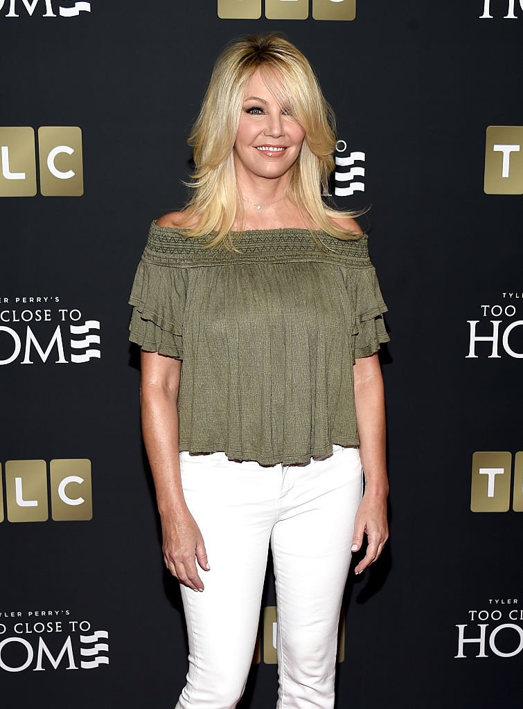 """In this handout photo provided by Discovery, Actress Heather Locklear attends TLC """"Too Close To Home"""" Screening at The Paley Center for Media 