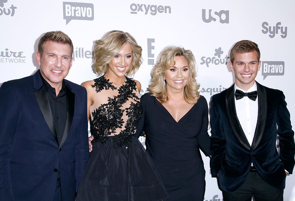 Todd Chrisley, Savannah Chrisley, Julie Chrisley and Chase Crisley| Photo: Getty Images