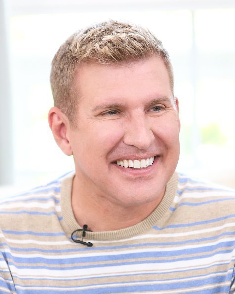 "Reality TV Personality Todd Chrisley visit Hallmark's ""Home & Family"" at Universal Studios Hollywood on June 18, 2018 in Universal City, California 