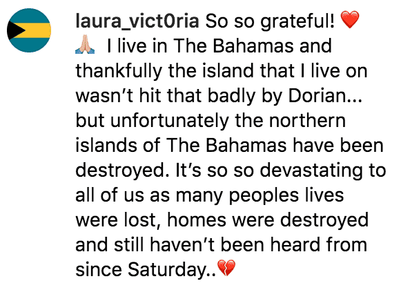 As they help with relief efforts in the Bahamas fans support the Duggar family | Source: instagram.com/duggarfam