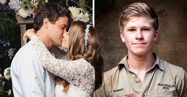 Steve Irwin's Son Robert Shares Sweet Post Celebrating Newlyweds Bindi & Chandler Powell