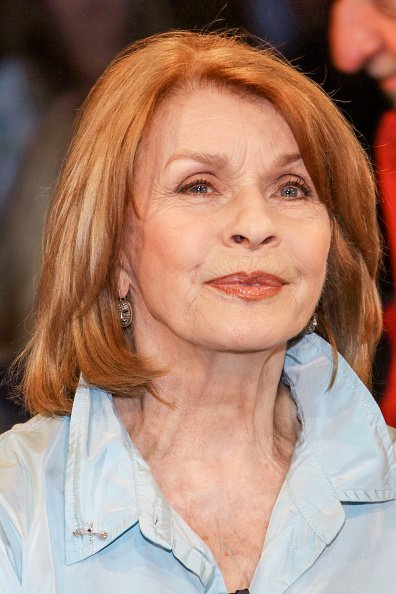 Senta Berger, NDR Talk Show, Hamburg, 2018 | Quelle: Getty Images