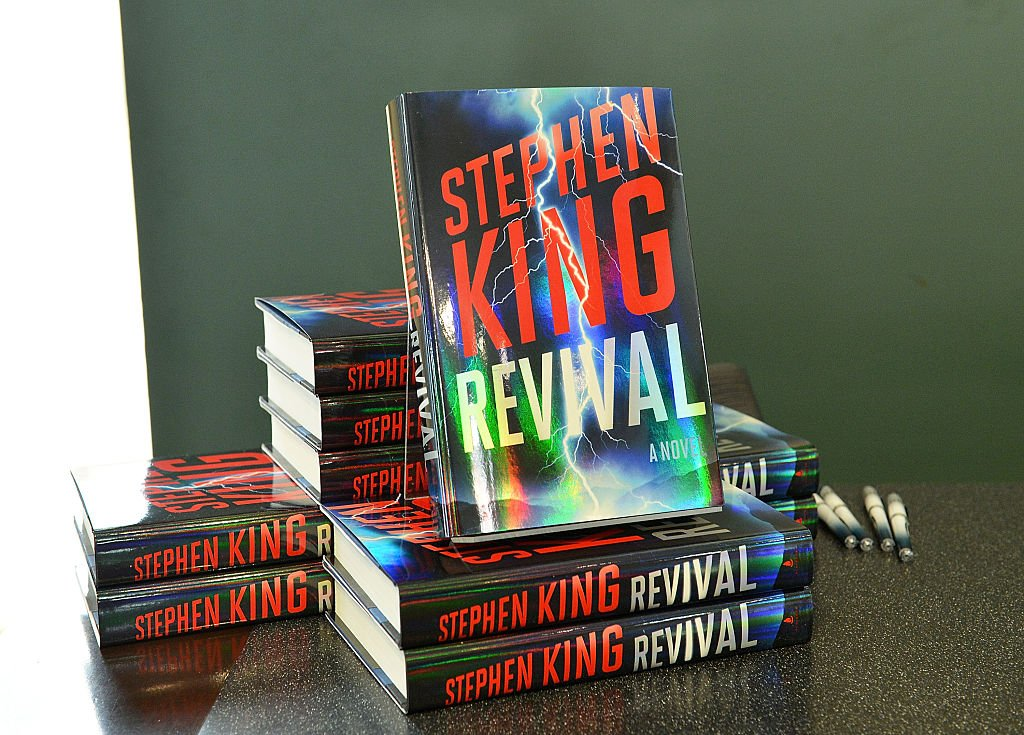 "Le livre ""Revival"" de Stephen King. l Source : Getty Images"