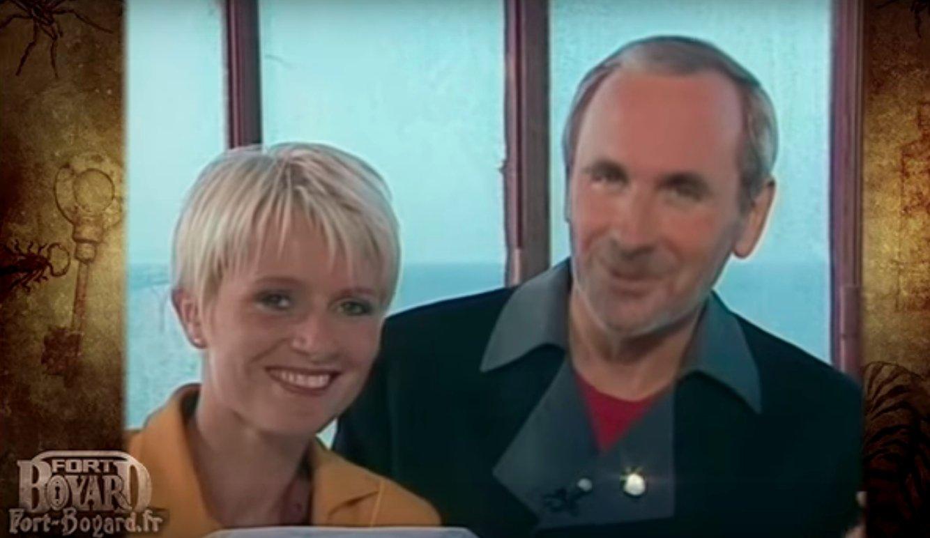 Sophie Davant, Patrice Laffont et le Père Fouras à Fort Boyard en 1991 | Source: Youtube/Fort-Boyard.fr