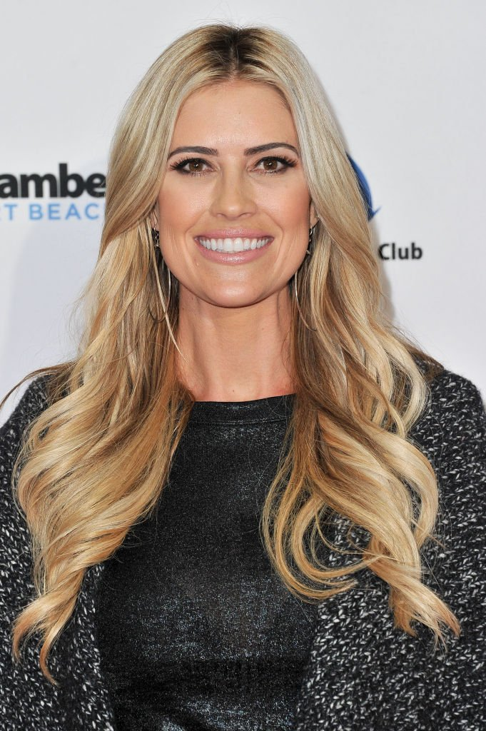 Christina Anstead attends the 111th Annual Newport Beach Christmas Boat Parade opening night at Marina Park on December 18, 2019 in Newport Beach, California   Photo: Getty Images