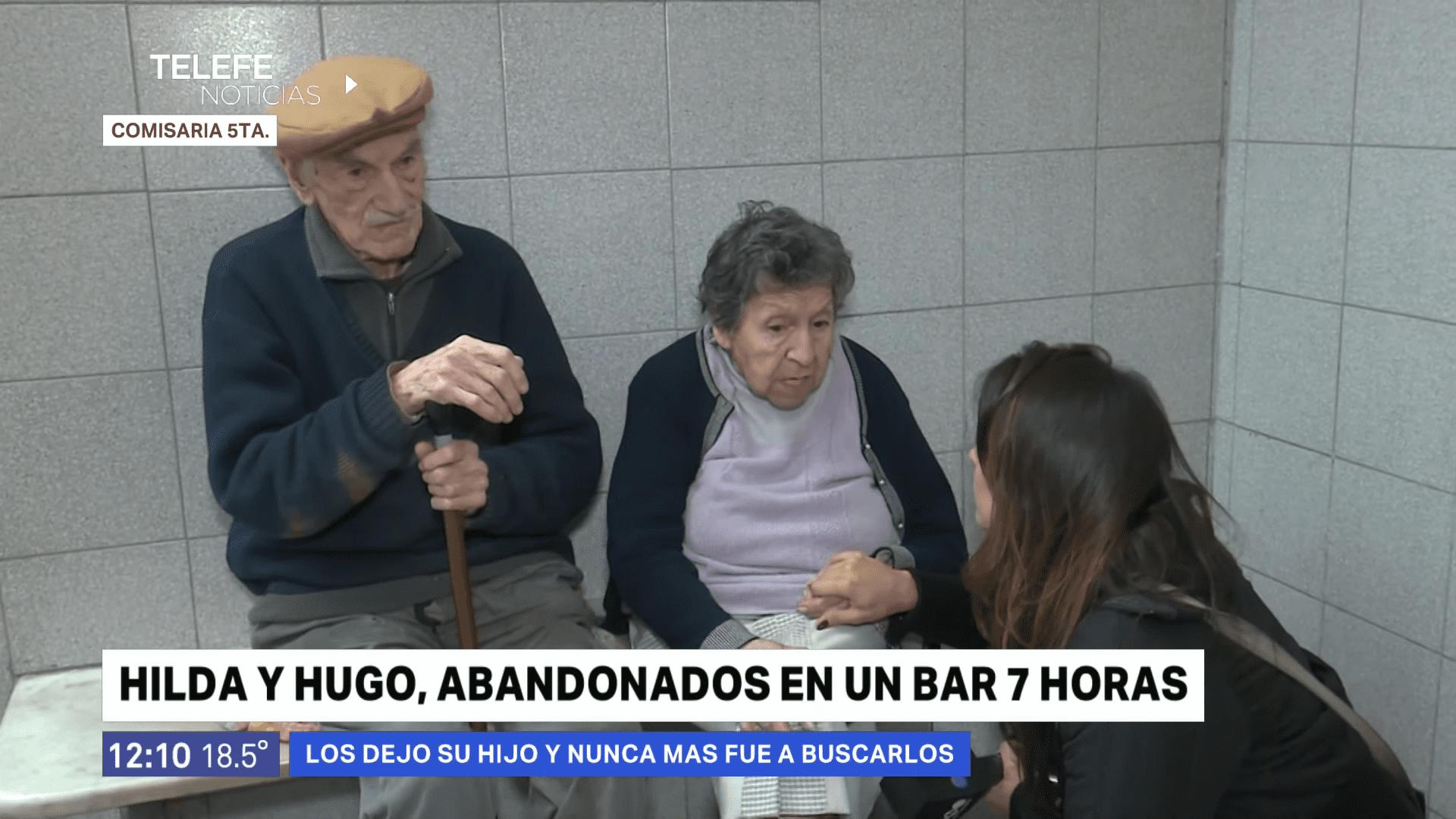Hugo e Hilda │Imagen tomada de: YouTube / Telefe Rosario