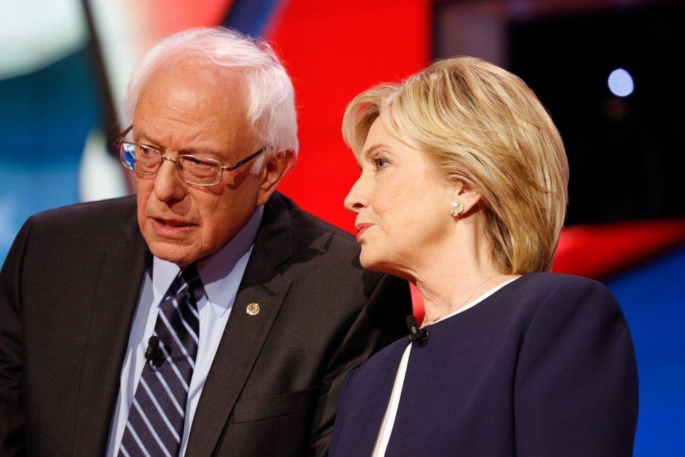 CNN Democratic presidential debate features candidates Sen. Bernie Sanders, Hillary Clinton at Wynn Las Vegas | Source: Shutterstock