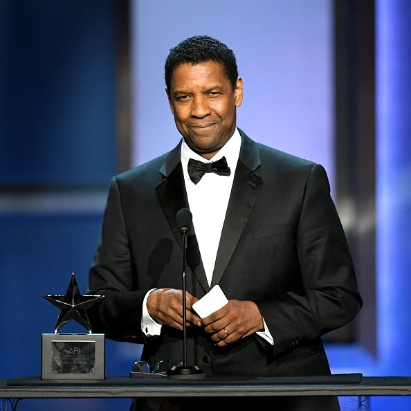 Honoree Denzel Washington speaks onstage during the 47th AFI Life Achievement Award | Photo: Getty Images