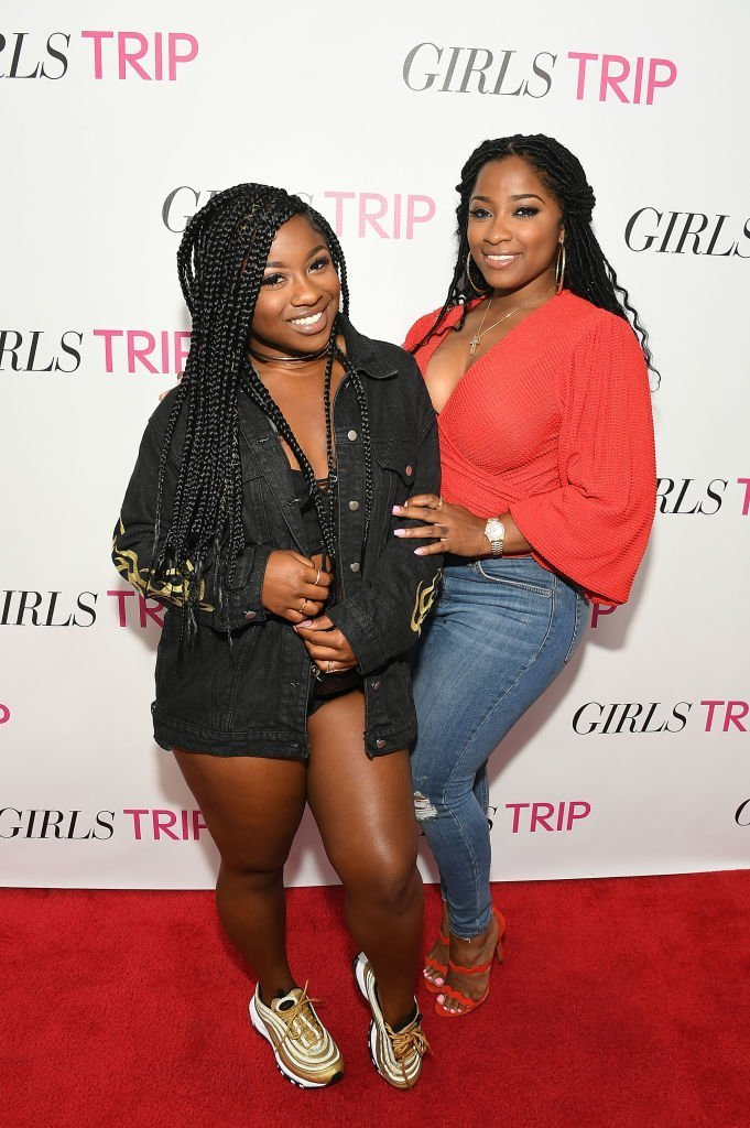 """Reginae Carter and Toya Wright at """"Girls Trip"""" Atlanta special screening at SCADshow 
