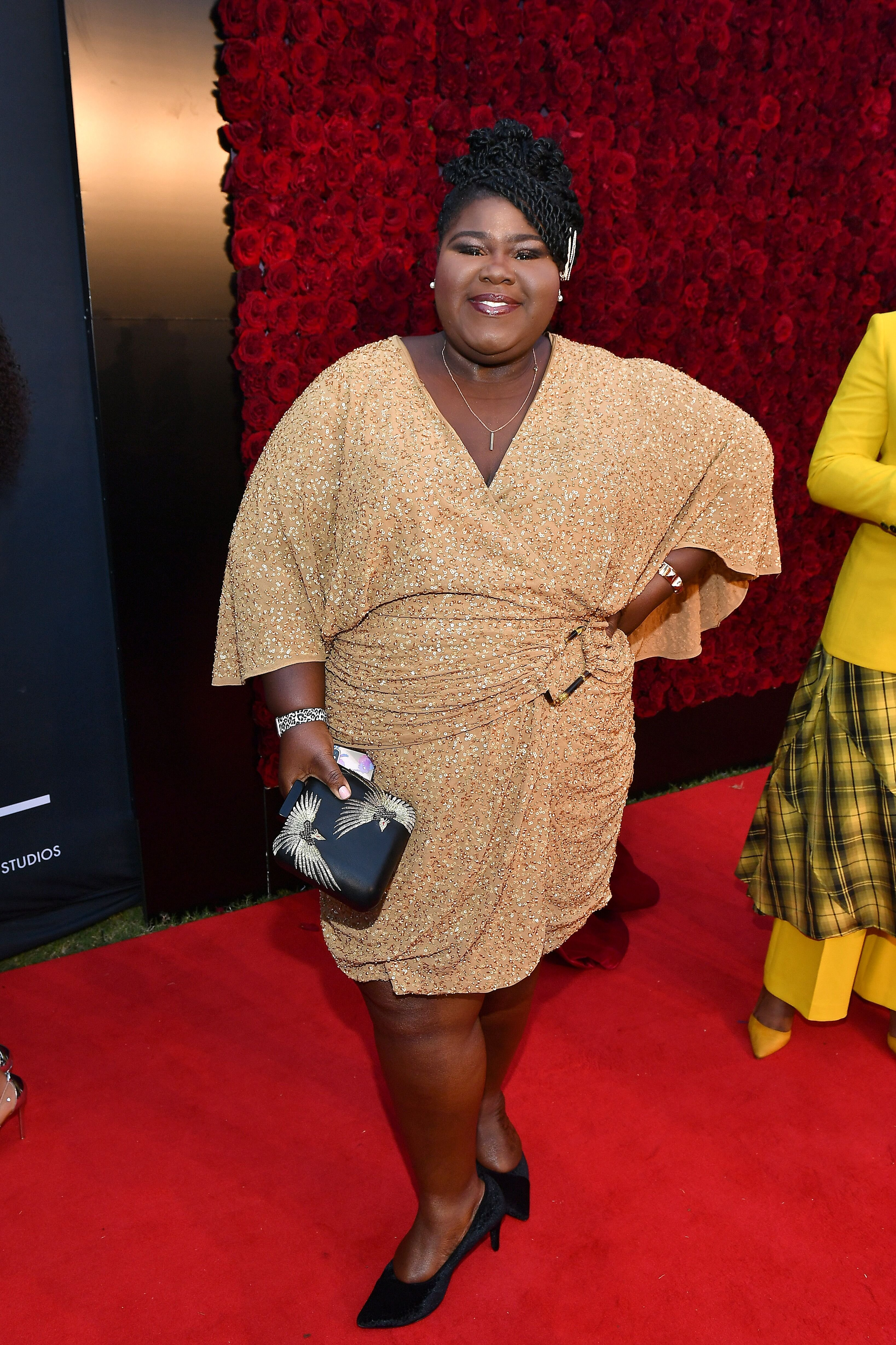 Gabourey Sidibe at Tyler Perry Studios grand opening gala on October 05, 2019 in Atlanta, Georgia | Photo: Getty Images