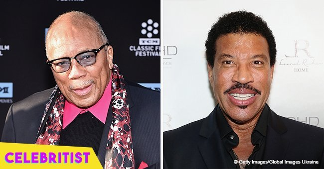 Quincy Jones' daughter melts hearts cuddling Lionel Richie's little girl in sweet throwback pic