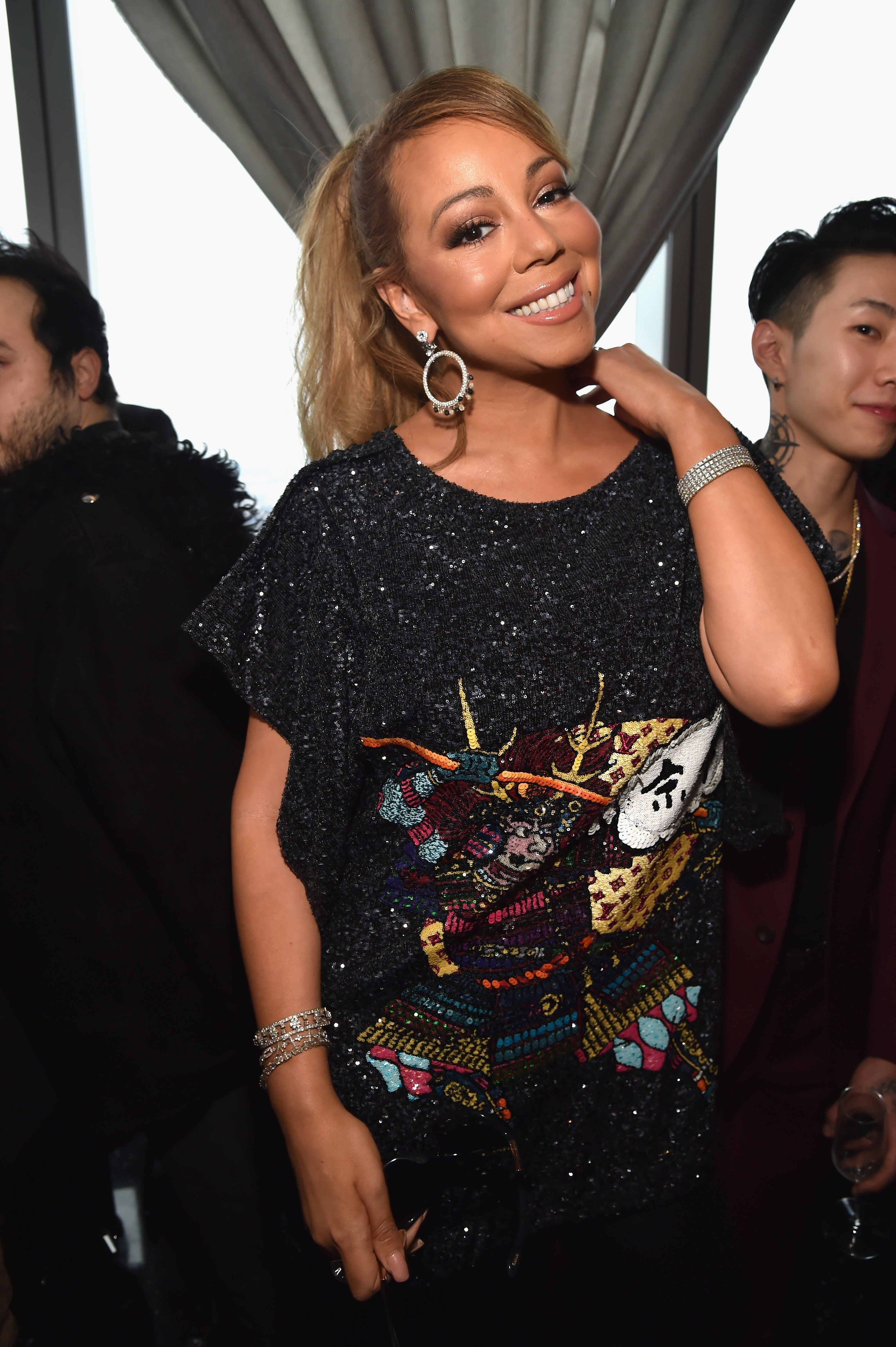 Mariah Carey attends Roc Nation THE BRUNCH at One World Observatory on January 27, 2018, in New York City. | Source: Getty Images.