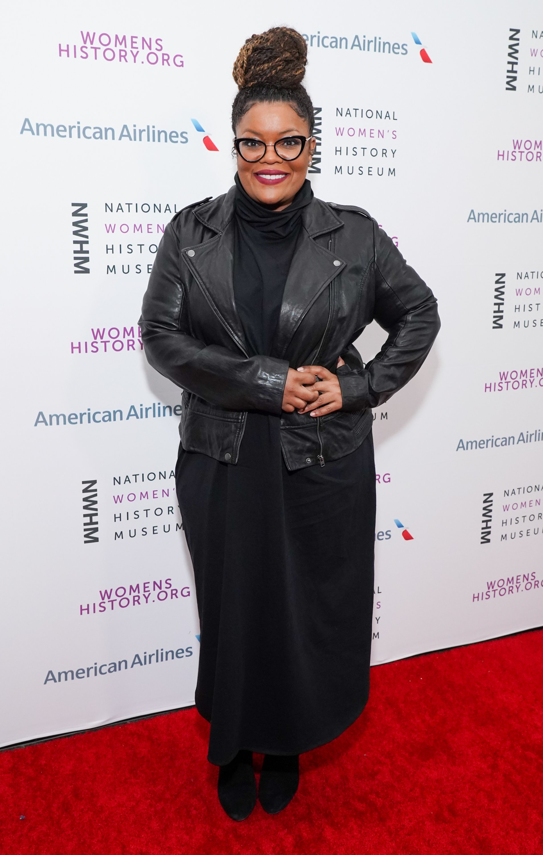 Yvette Nicole Brown attends the National Women's History Museum's 8th Annual Women Making History Awards on March 08, 2020   Photo: Getty Images